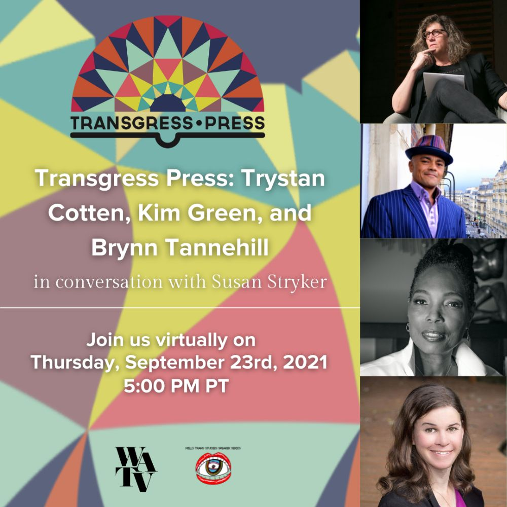 Trystan Cotten with Transgress Press Ad